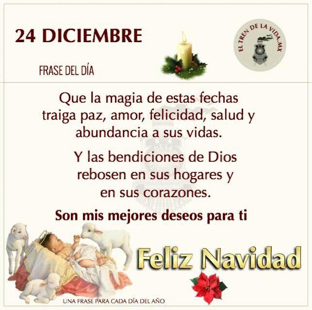 24 De Diciembre Feliz Navidad Mensajes Mensaje Navideño Y