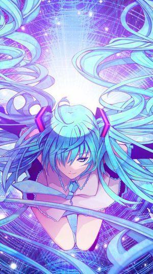 初音ミク 画像まとめ 2枚以上 壁紙 高画質 イラスト Naver まとめ Anime Art Odai