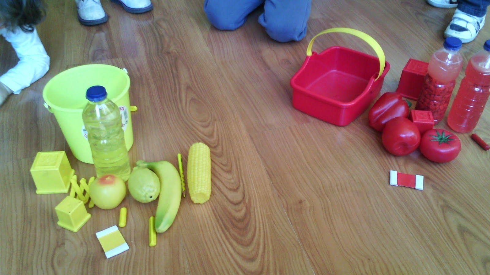 Actividades Para El Primer Ciclo De Educación Infantil Caja De Colores Caja De Colores Actividades Para Bebes Clasificar Colores