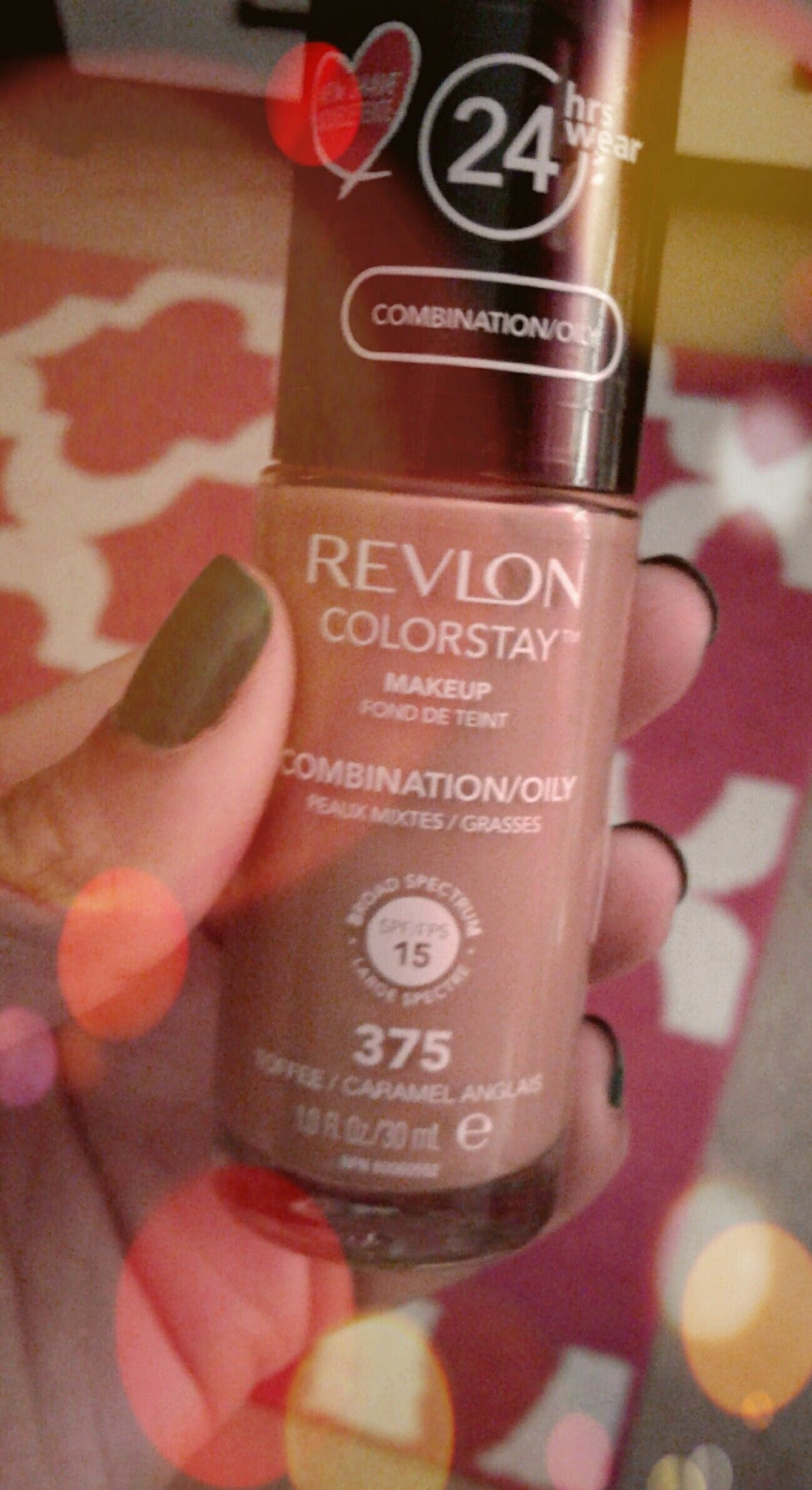 Revlon Colorstay foundation in 375 (Toffee/Caramel Anglais) | My ...