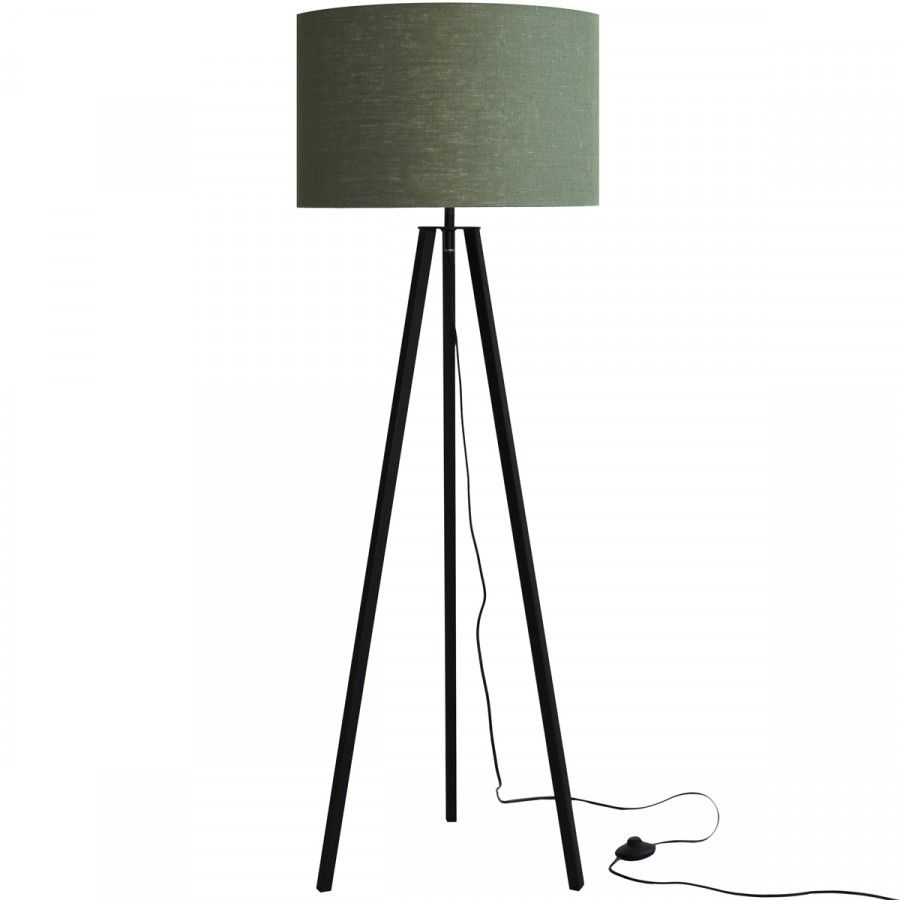 Vloerlamp Lino Groen Zwart Vloerlamp Groene Lamp Vloerlampen Woonkamer