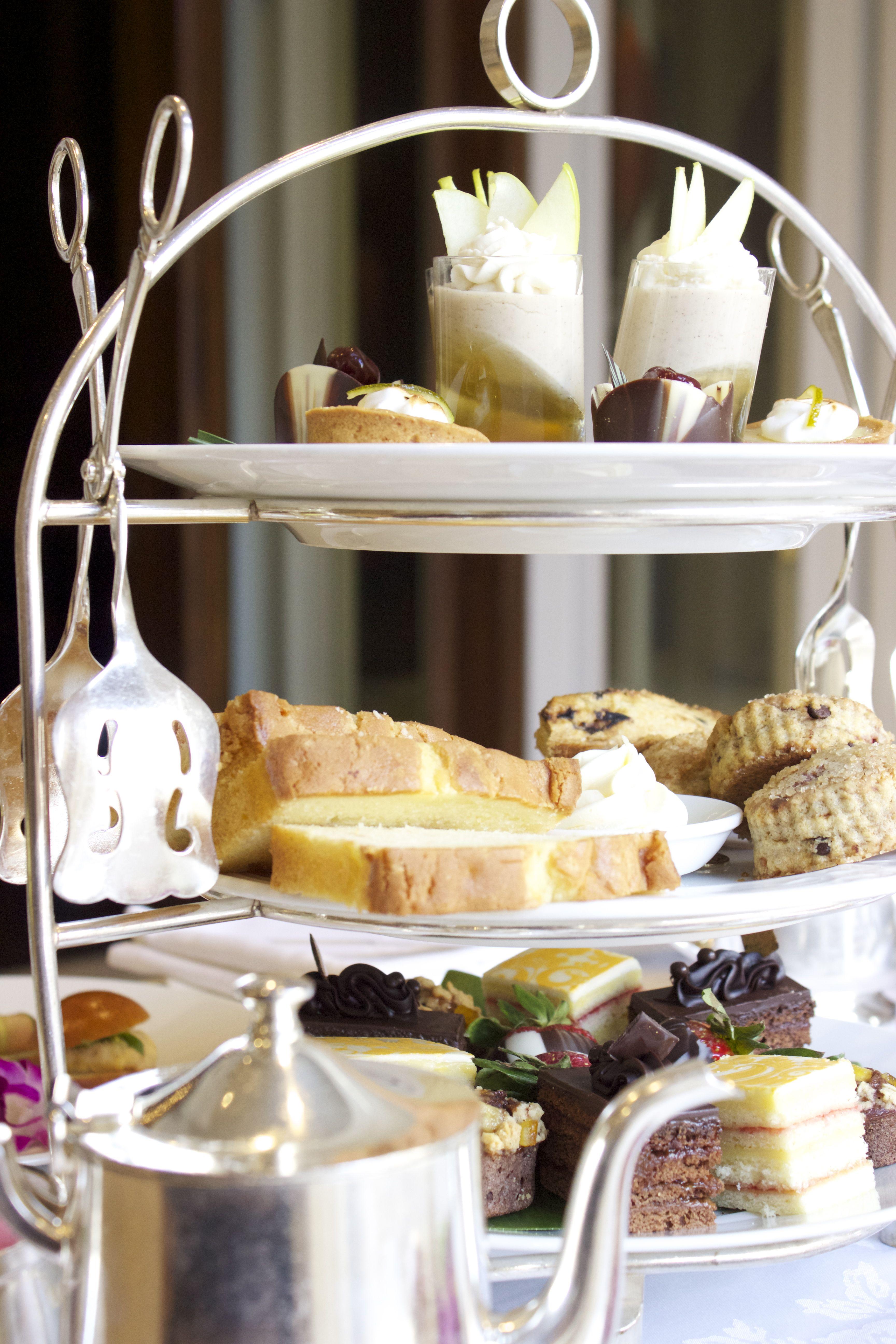Let's get fancy at Saturday Afternoon Tea A three tier
