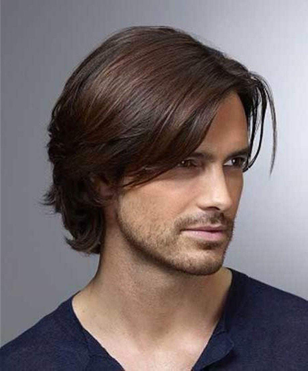 Longer Hairstyles For Men Cool Hairstyles For Men With Long Thick Hair  Hairstyle  Pinterest