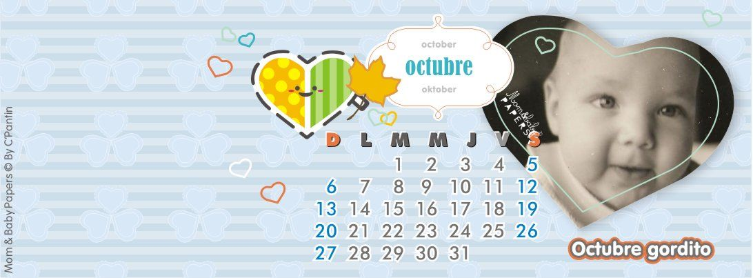 #cover #Octubre #2013 #banner #MomAndBabyPapers #zonacepe