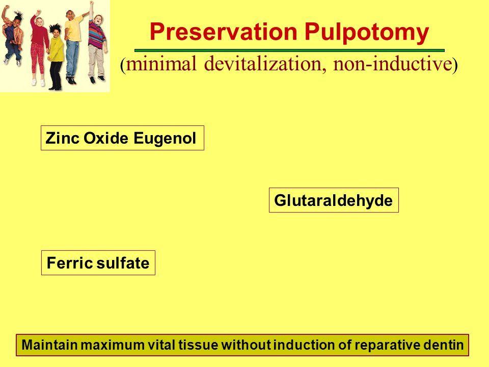 image result for zinc oxide eugenol pulpotomy