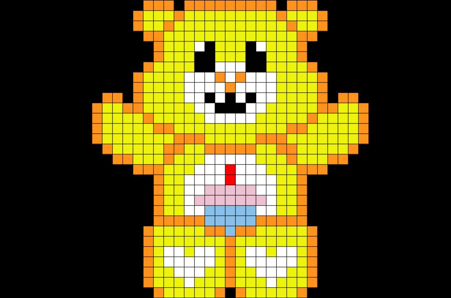 logo snap pixel art