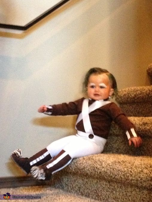 Haley: I made this costume for my 14 month old daughter. She just started walking & has the perfect walk for the character!! I used white tights, brown socks & turtle...