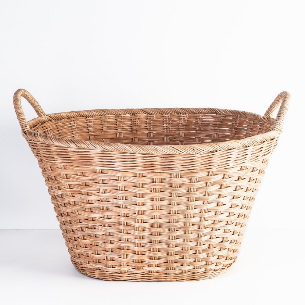 Oval Laundry Basket Healdsburg Shed Basket Wicker Laundry Basket