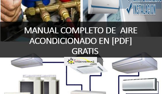 MANUAL DE AIRE ACONDICIONADO Y CALEFACCIÓN EN PDF