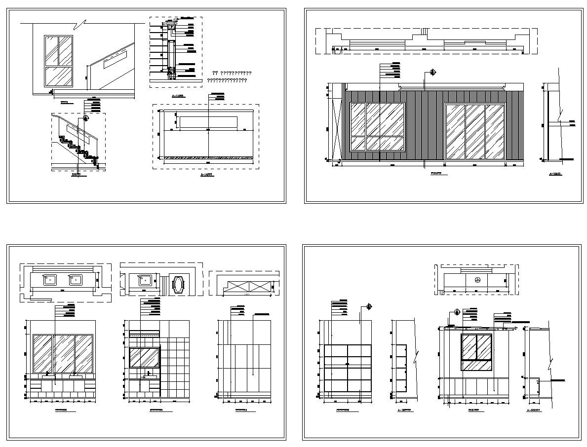 Architectural Floor Plan Floor Plan With Autocad Drawings