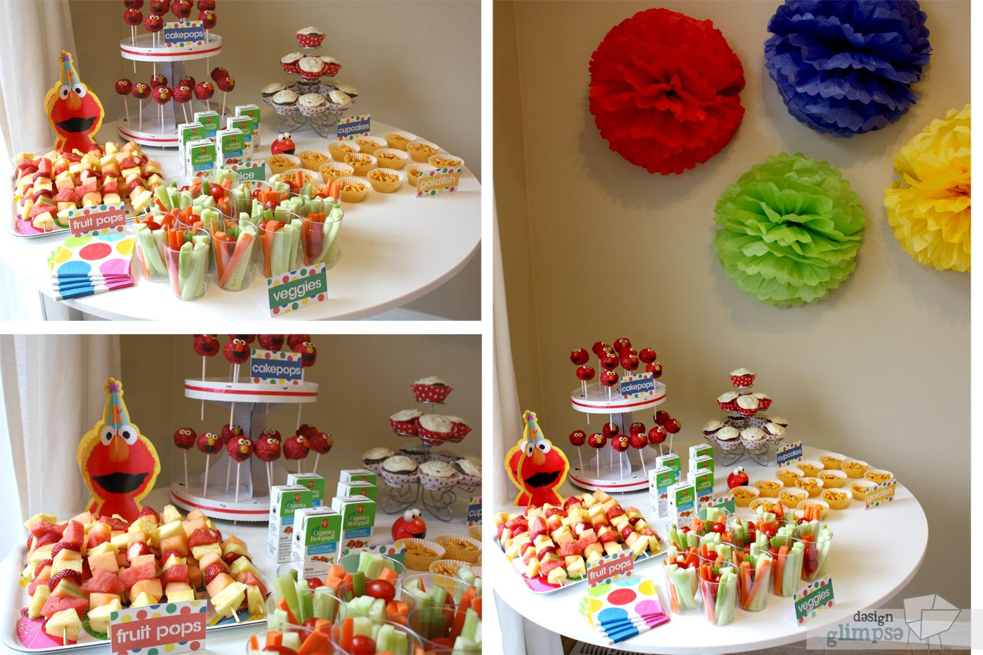 S 39 S Elmo Themed Bday Party Parties Pinterest Birthday Party Foods