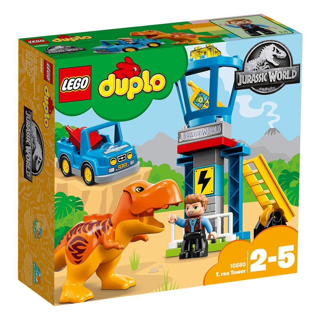 Lego Duplo Jurassic World T Rex Tower 10880 Russells Things