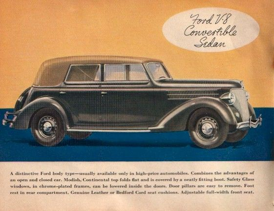 Directory Index Ford 1936 Ford 1936 Ford Brochure Ford Sedan Brochure