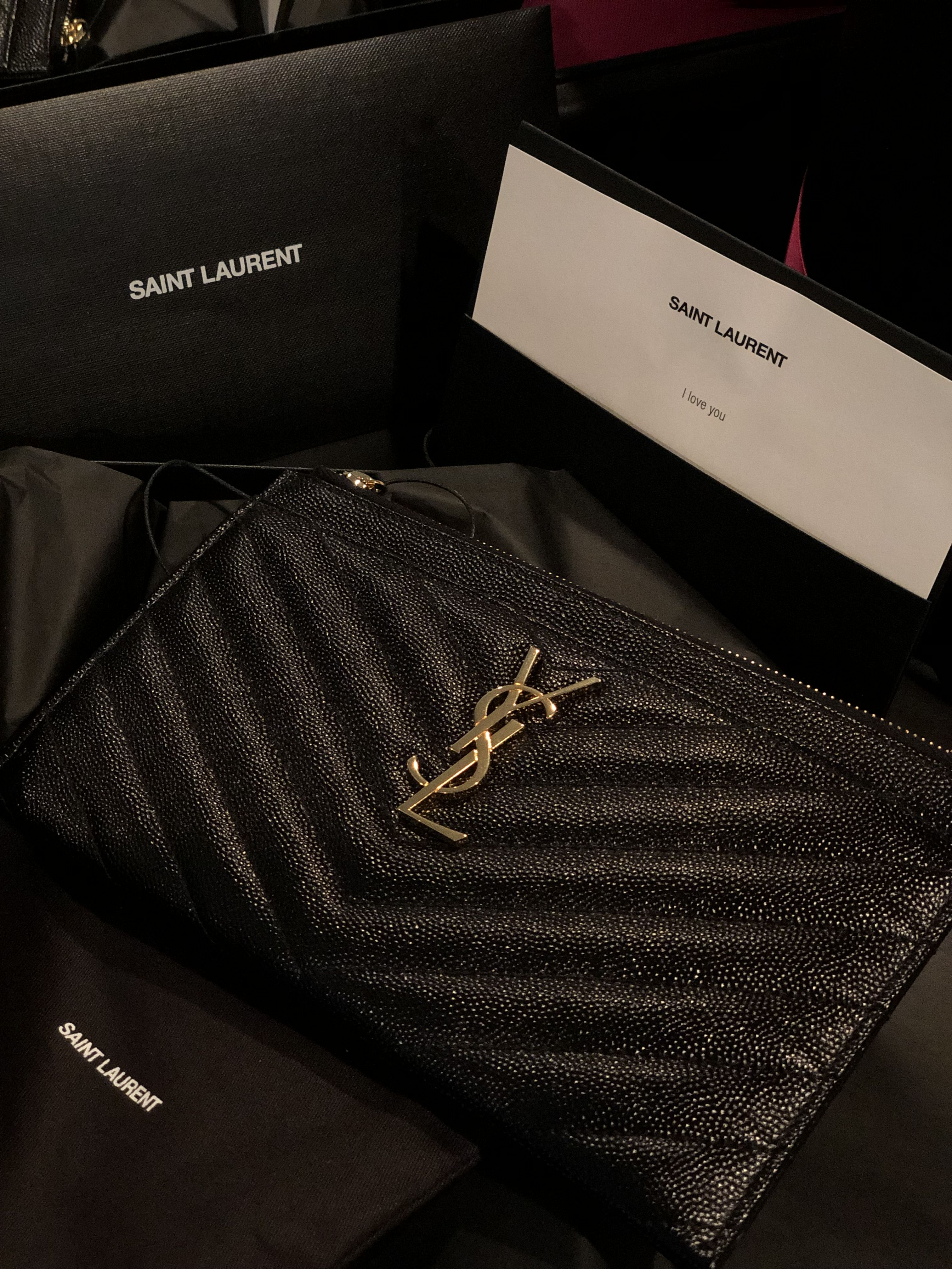 d625693b95 YSL Bill pouch | Bags in 2019 | Ysl, Michael kors jet set, Bags