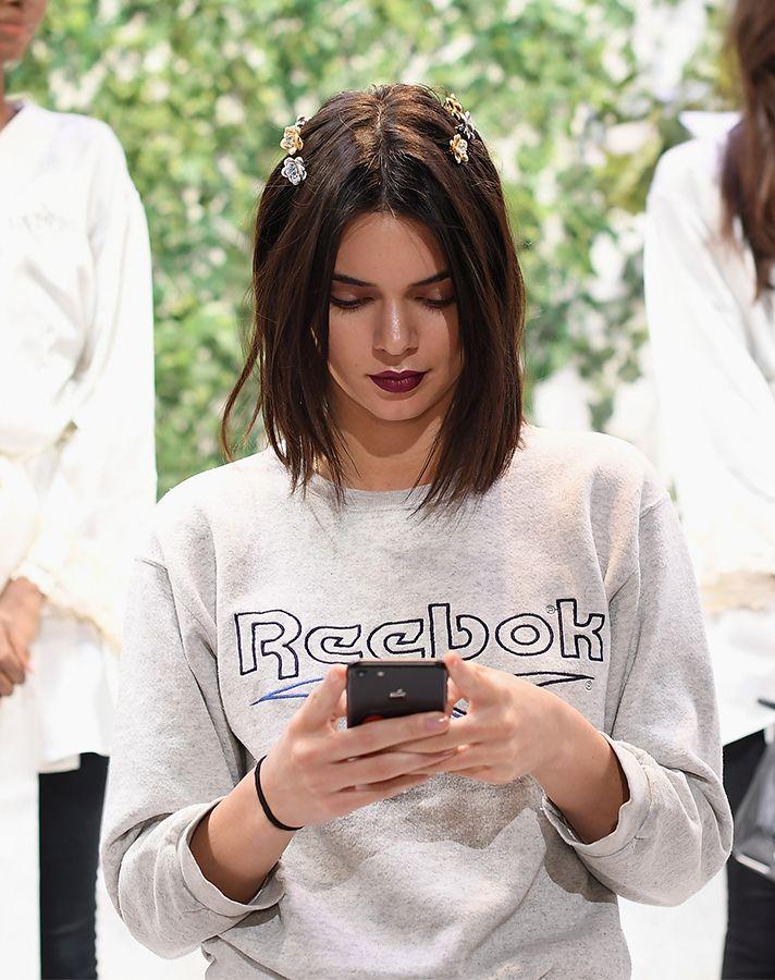 Kendall Jenner Just Got The Coolest Bob Haircut Of 2017 Kendall Jenner Haircut Kendall Jenner Short Hair Short Hair Styles