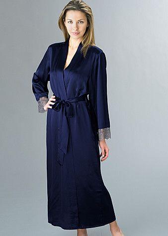 Le Soir Dream Silk Full-Length Robe http   www.juliannarae. 3a8956e34