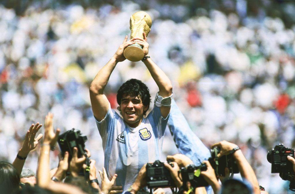 World Cup 1986 Diego Maradona Hoa Thanh Argentina Lần Thứ 2 Gianh Cup Bong đa World Cup Steven Gerrard