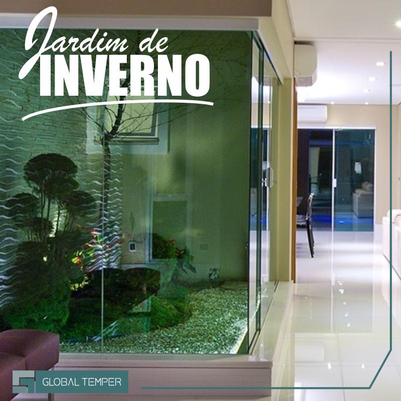Já pensou em ter uma sala decorada com um jardim?