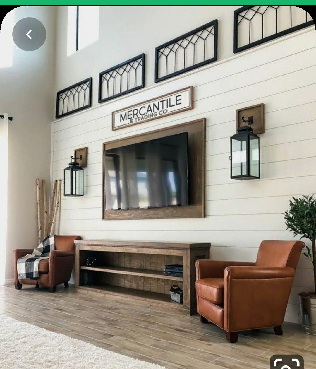 Pin By Dana Farnsworth On Millstone Home Large Wall Decor Living Room Mounted Tv Ideas Living Rooms Family Room Walls