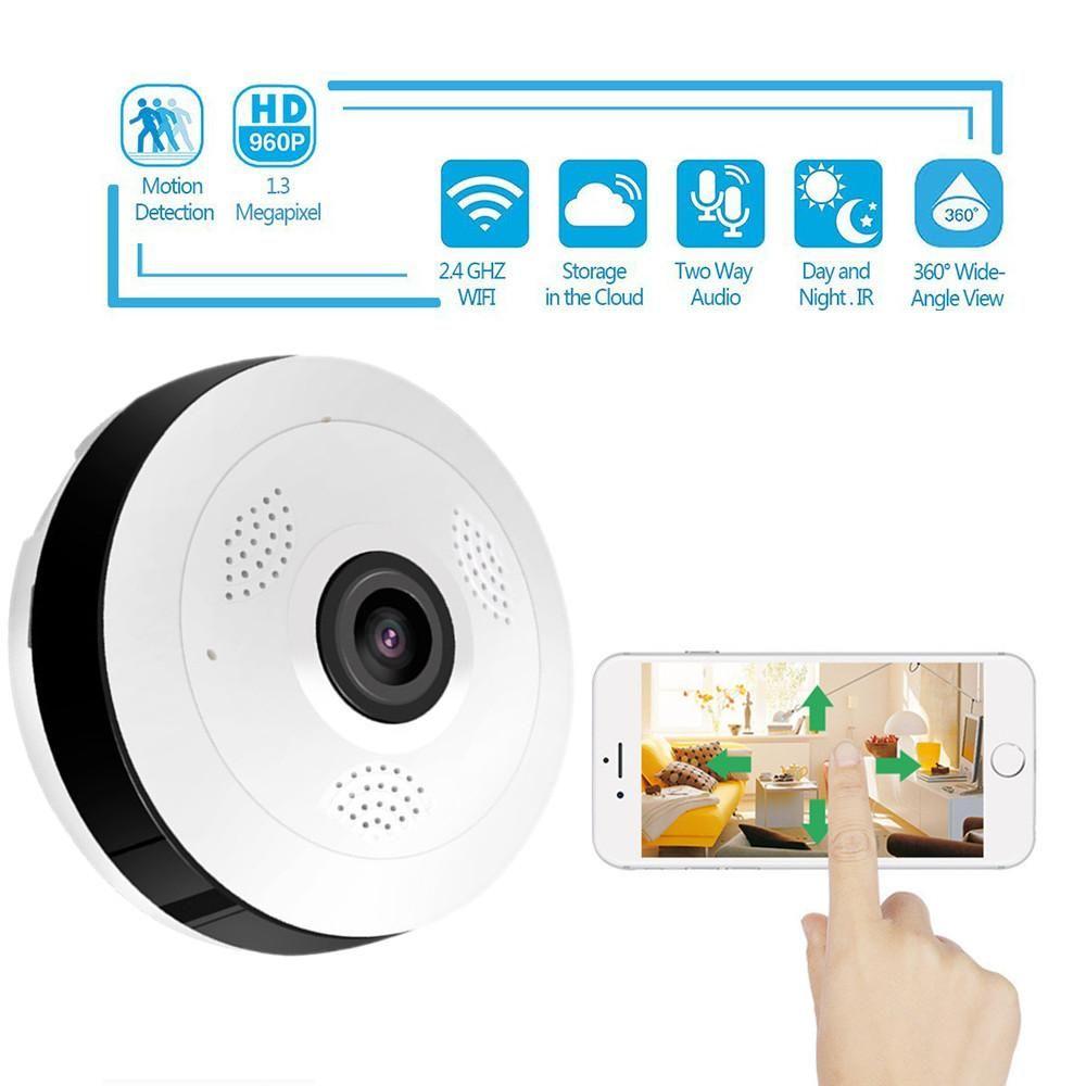 360° Smart Home Camera | Shop now | Home camera, Smart home