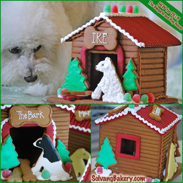 Introducing The Gingerbread Dog House! Personalize It With