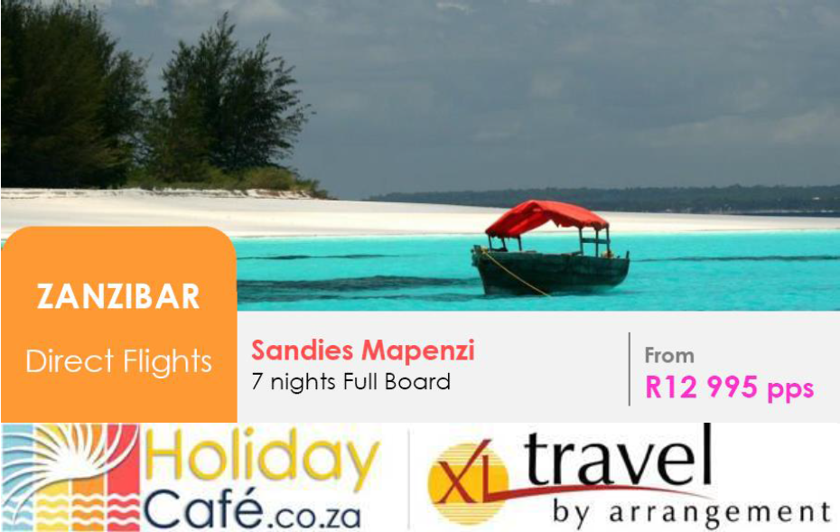 Holiday Cafe Xl Travel By Arrangement T 011 794 4900 E