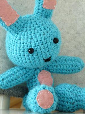"""A bunny from blog """"Sånt är livet"""" by SiinaPauliina"""
