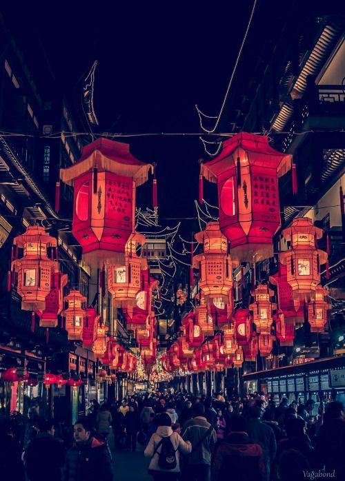 landscape lanterns radarplz china travel photography tumblr staff