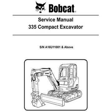 Bobcat Manual Excavator Air Conditioning Services Manual