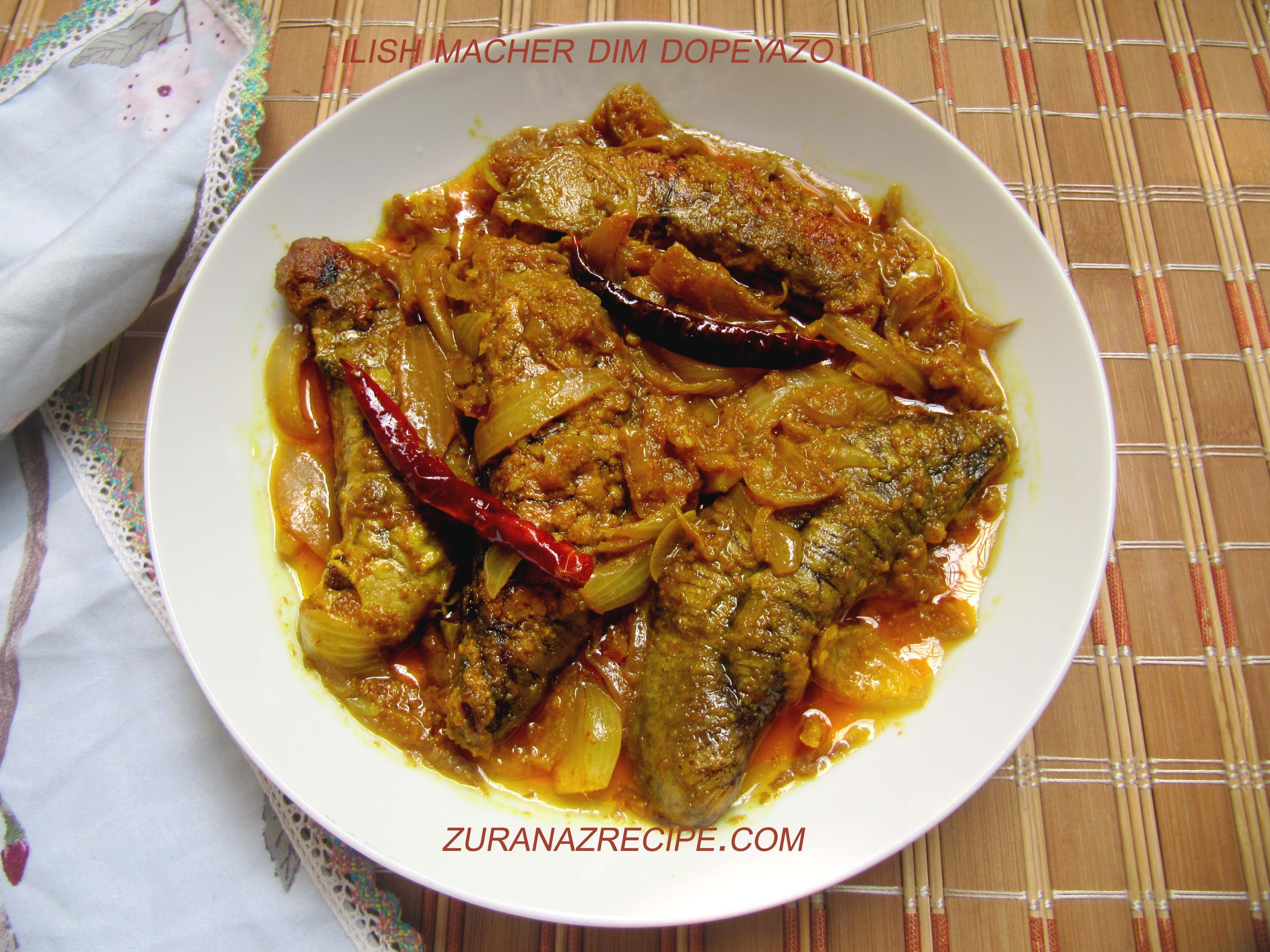 Ilish macher dim dopeyazo bangla bangladeshi bengali food ilish macher dim dopeyazo bangla bangladeshi bengali food recipes forumfinder Choice Image