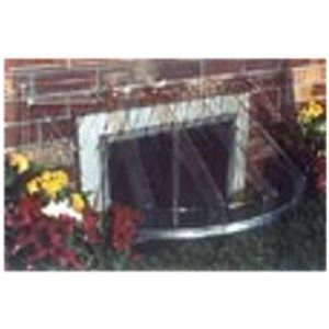 "Bubble Window Well Cover, Circular, 44-1/2 x 20 x 18-1/2-In.true value hardware. we need 45"" by 17"" by 16 or 13"" height"