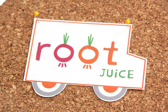 Root Juice branding by Braid Creative & Consulting
