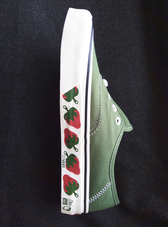 Green vans, Skate shoes, Sneakers