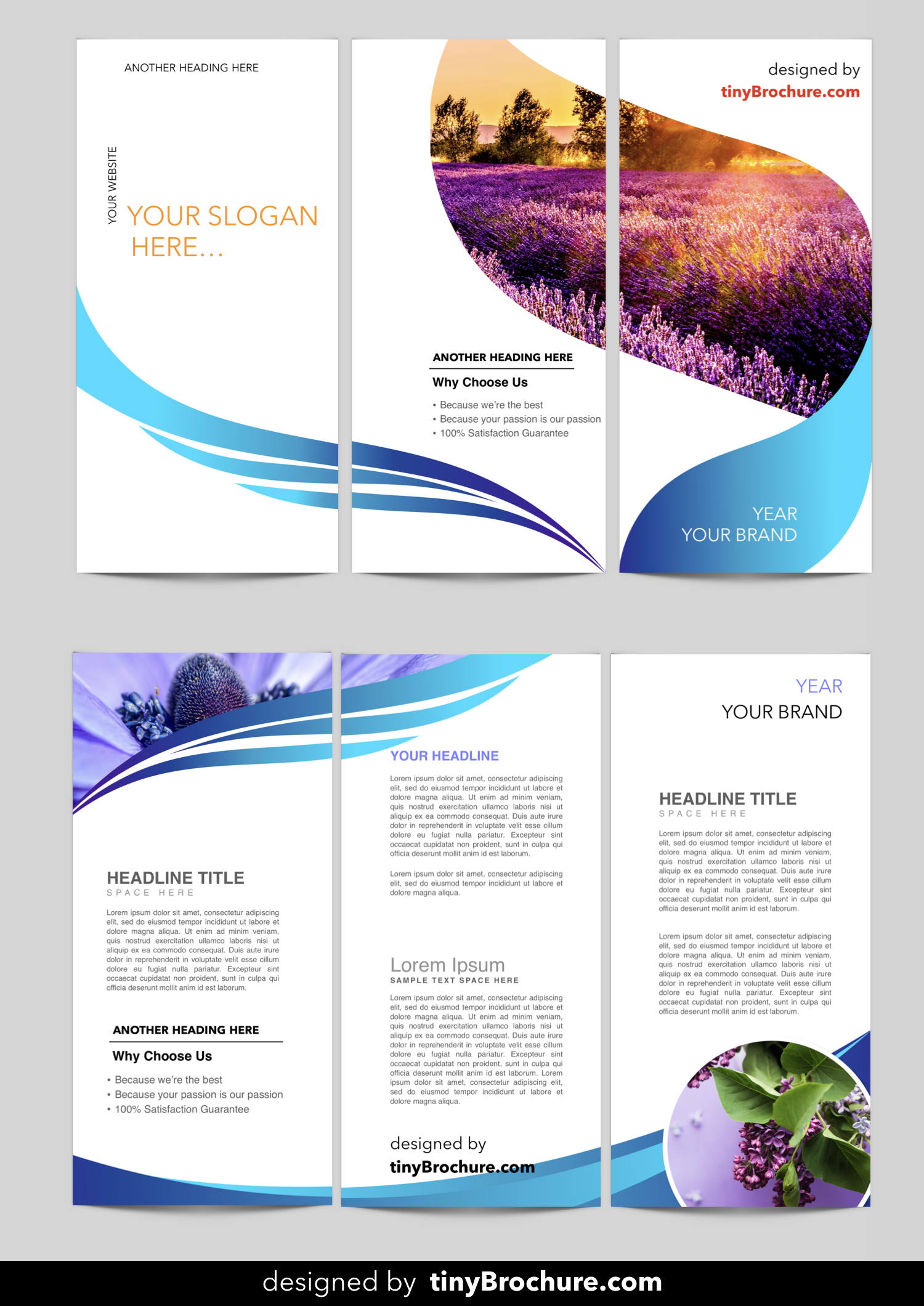 tri fold brochure template google slides templates pinterest