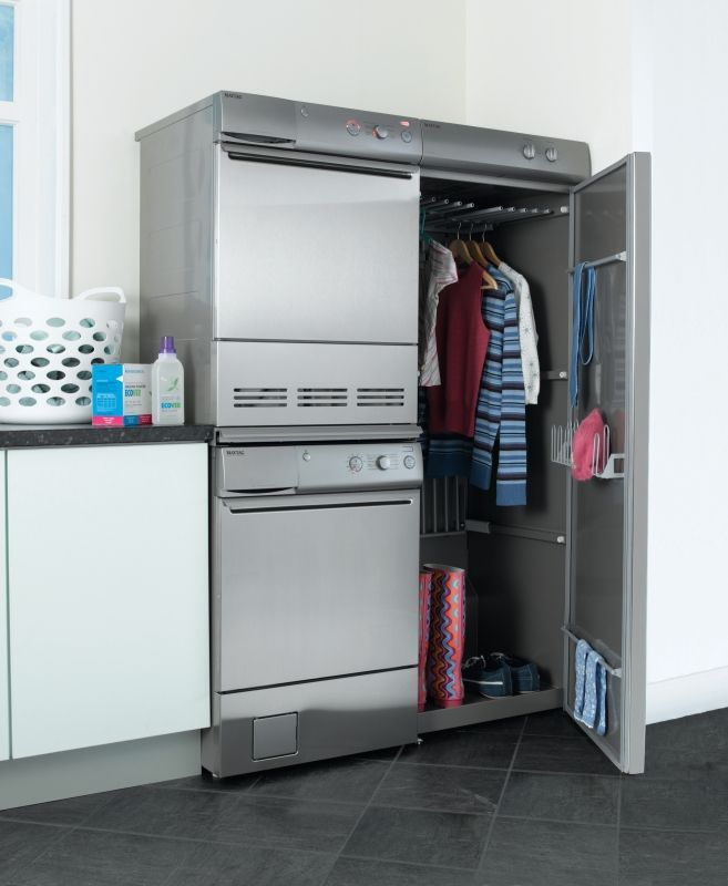Ski Drying Cabinet ~ Currently coveting the maytag drying cabinet laundry