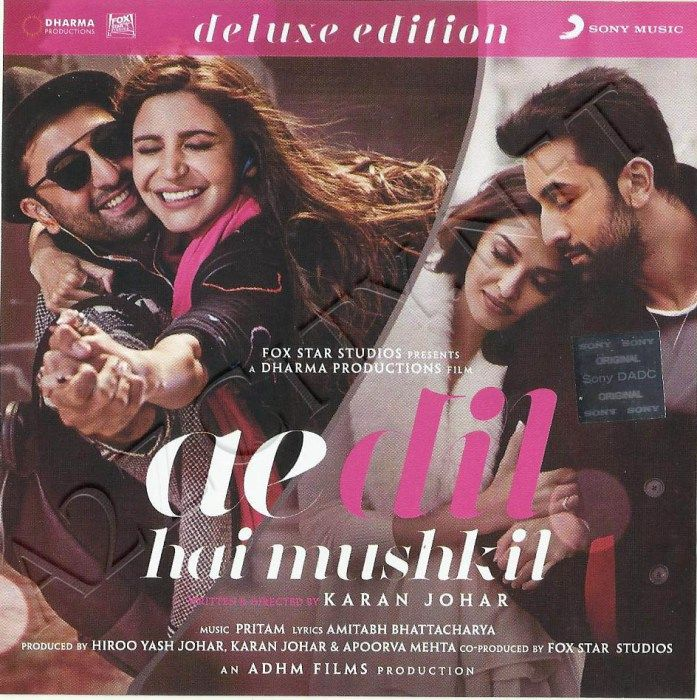 Ae Dil Hai Mushkil Deluxe Edition 2016 Flac Bollywood
