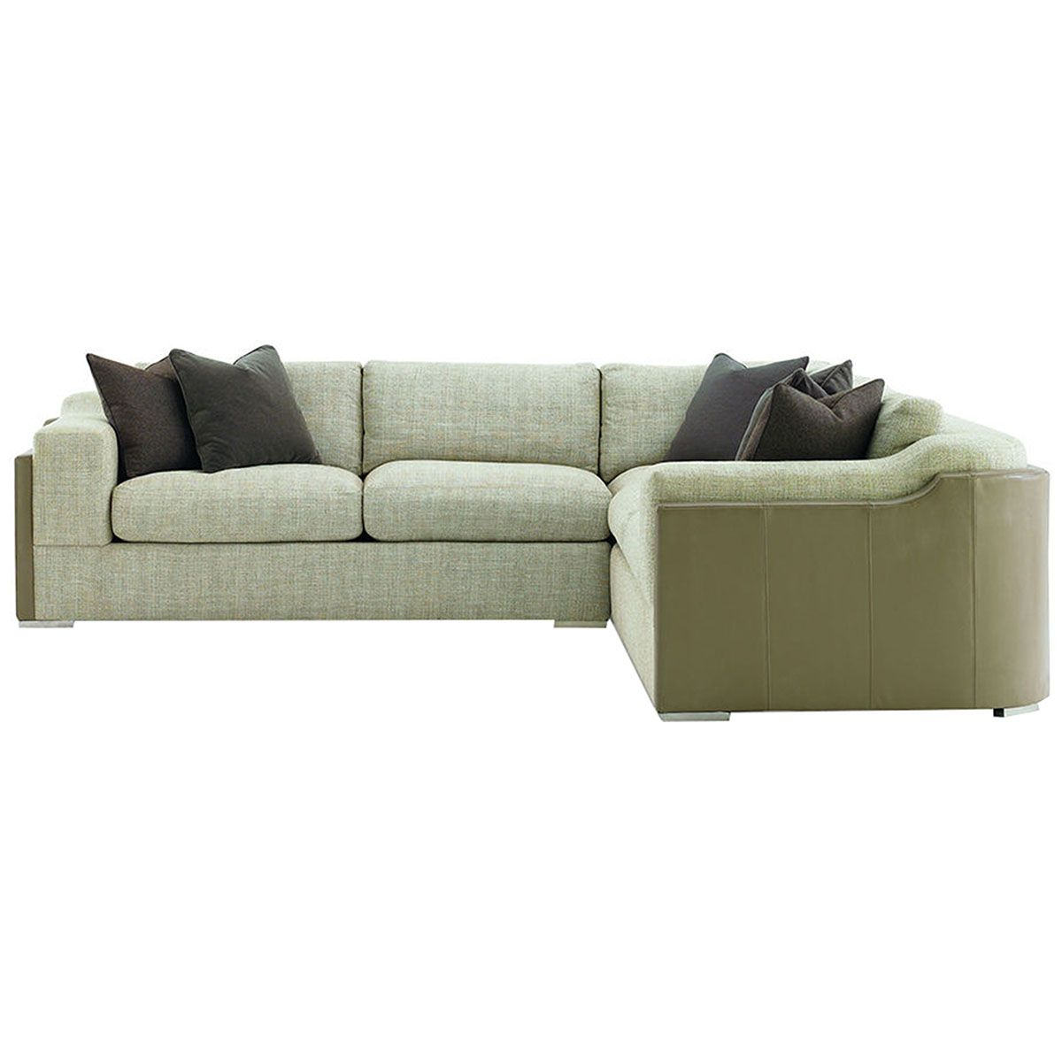 Caracole Social Network Armless Sectional Loveseat UPH-SECALS-02A  sc 1 st  Pinterest : armless sectional - Sectionals, Sofas & Couches