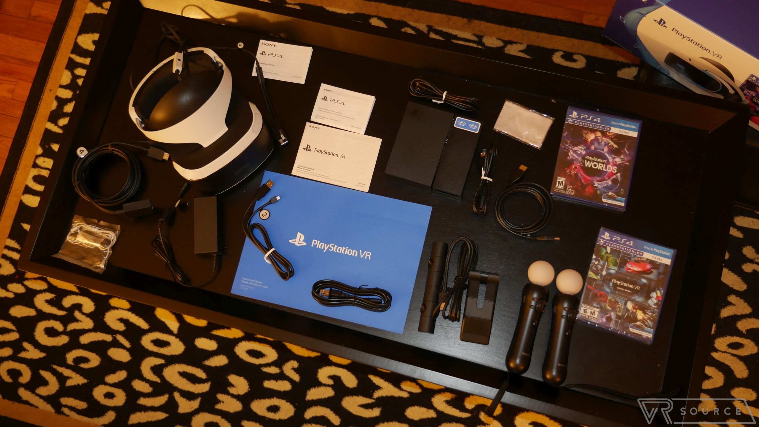 c4e568edc8a Sony PlayStation VR unboxing Virtual Reality