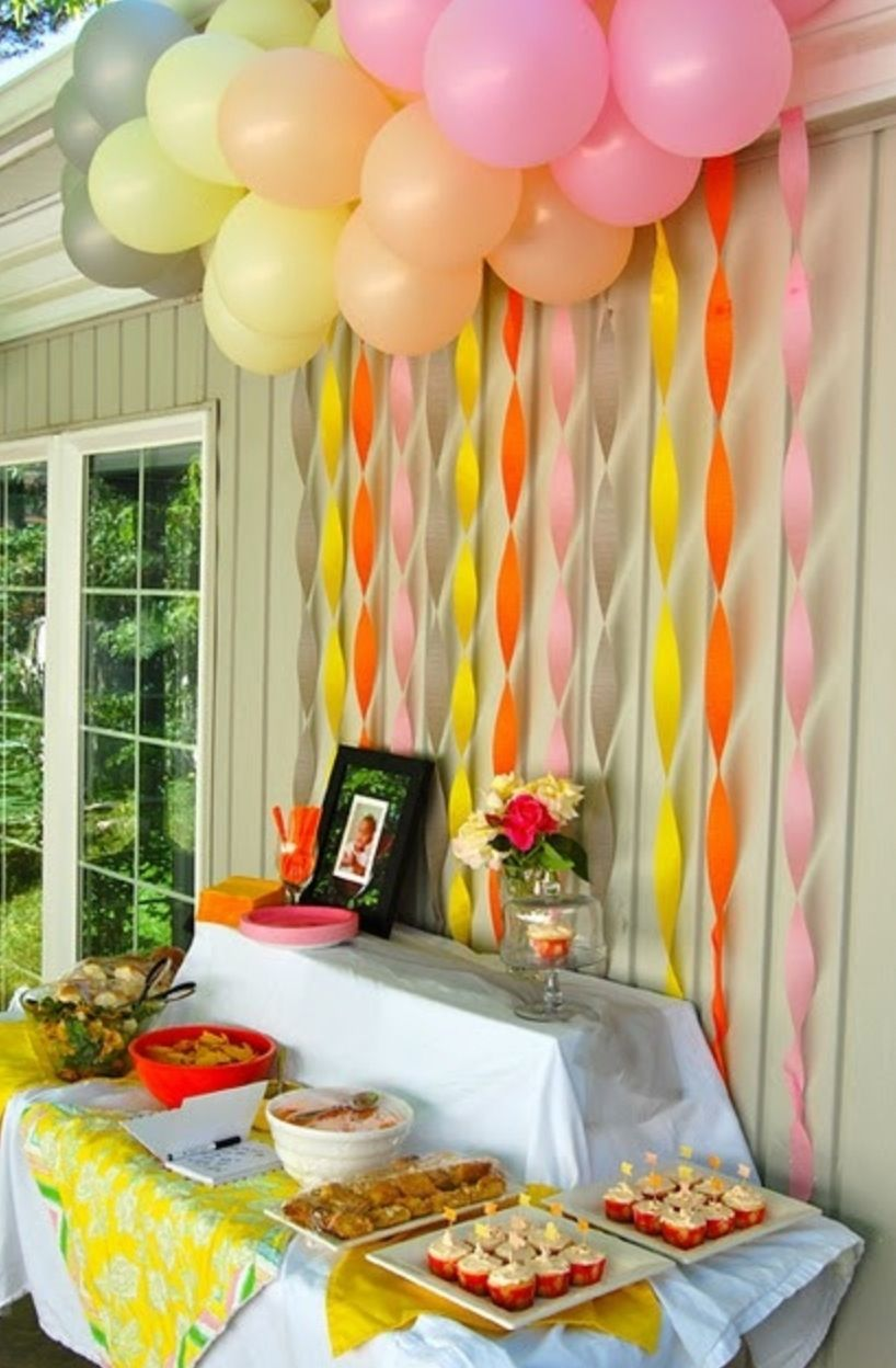 Food Table backdrop | Baby shower | Pinterest | Backdrops, Birthdays ...
