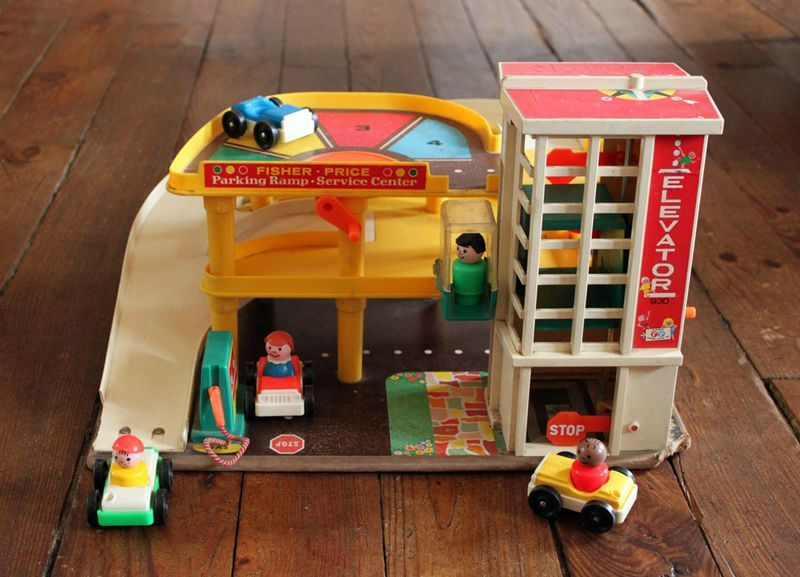 Garage Fisher Price : Le garage fisher price vie d puce remember fisher price