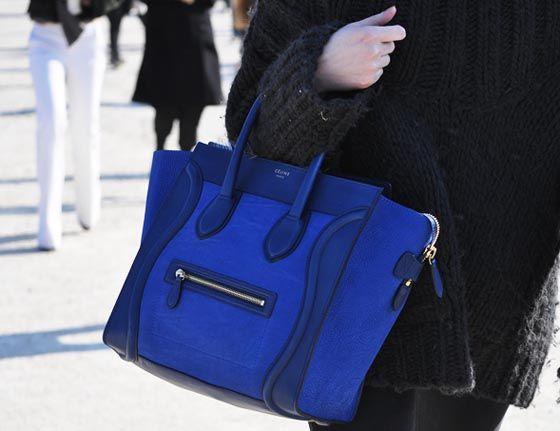 5a09f0535 Bolsa Celine azul royal | Um vício chamado bolsas | Pinterest | Stil