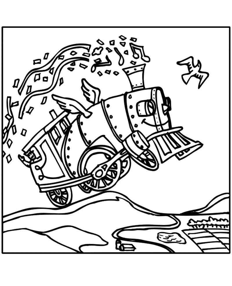 the polar express coloring page from coloring pages