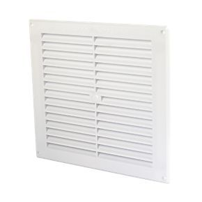Map Vent Fixed Louvre Vent White 229 X 229mm Louvre My Ideal Home Map
