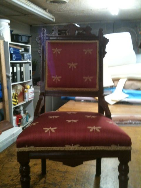 Eastlake chair completely restored from the frame up . 299 ...