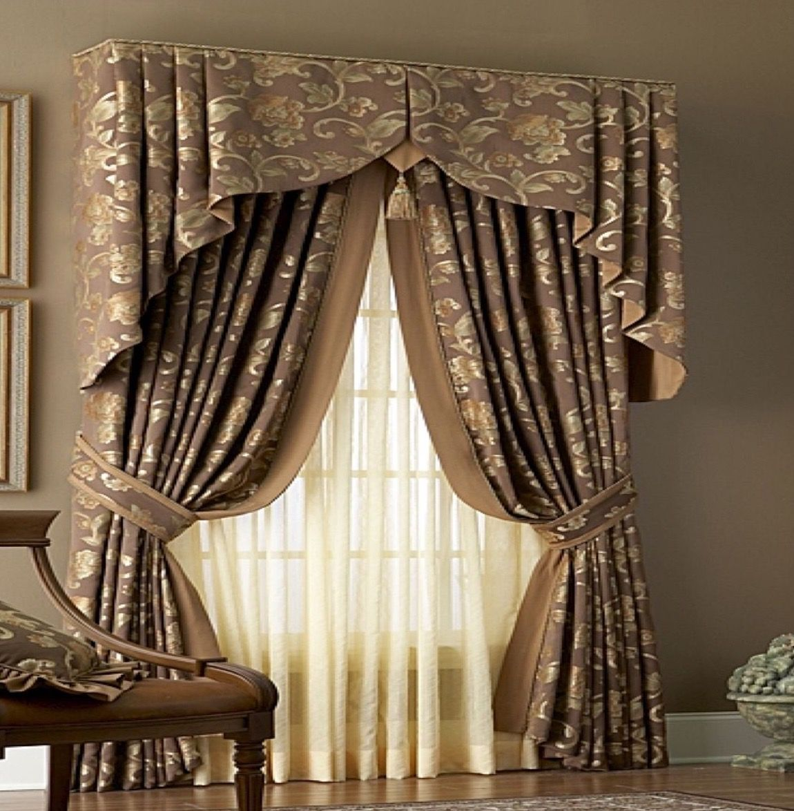 Custom Kitchen Curtains Ideas: Pin By Lindsey On Decorative Valances In 2019