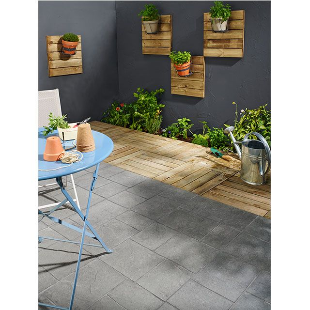 Dalle De Terrasse En Pin 50 X 50 Cm Castorama Dalle
