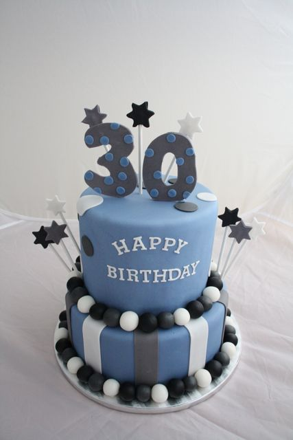30th Birthday Cake Happy Birthday Cake Images ideas Pinterest