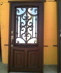 Herrer a alsa dise o de estructuras en acero en reforma for Puertas de herreria forjada