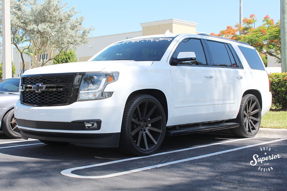 2017 Chevy Tahoe Custom Stripe And Lighting Package With A Full