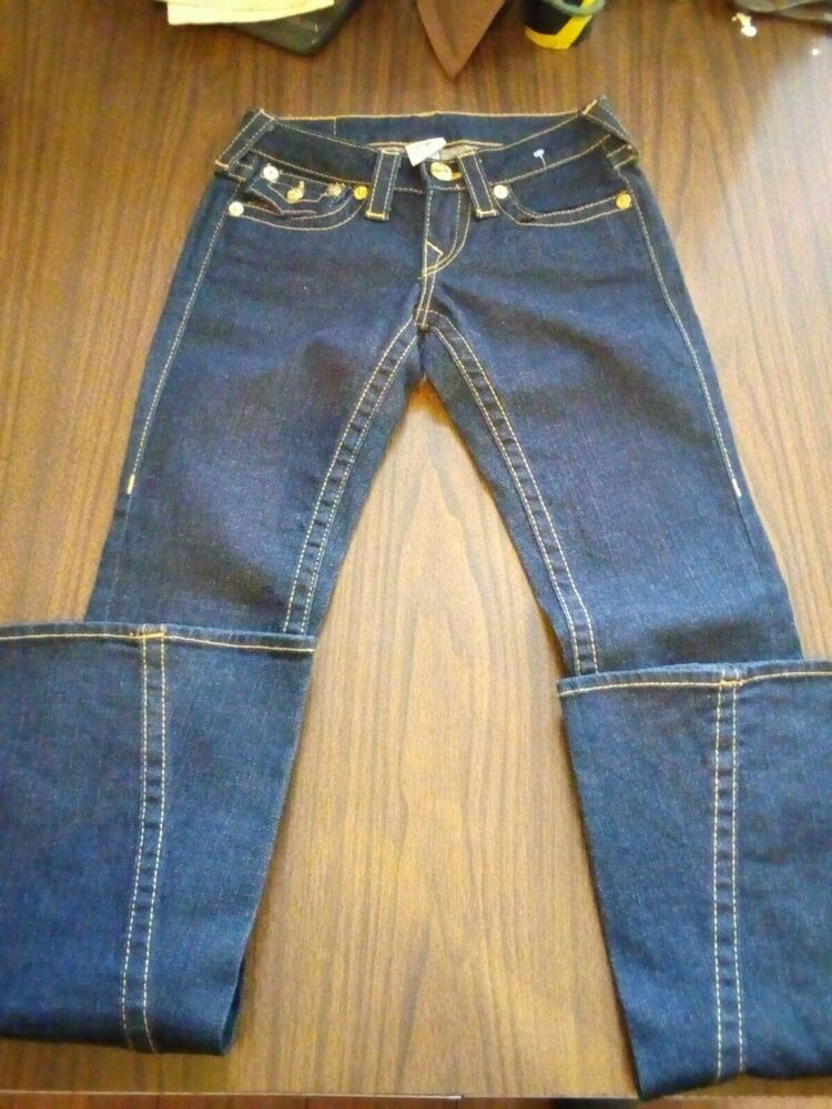 True Religion Jeans Size 24 x 33 New without Tags Bobby